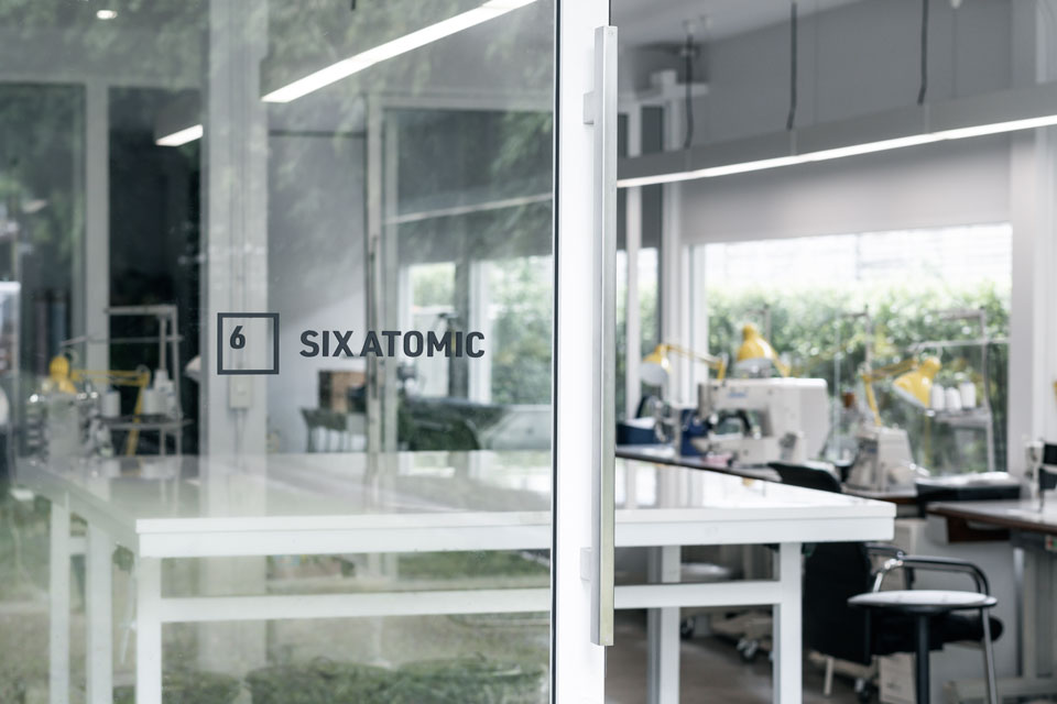 Image of Six Atomic office entrance